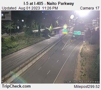I-5 at I-405 - Naito Parkway