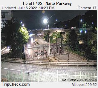I-5 at I-405 Natio Parkway