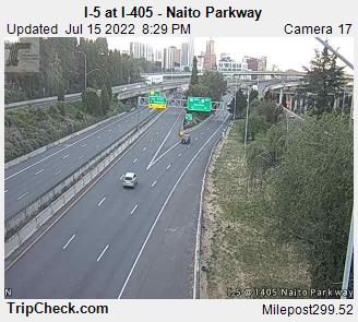 I-5 at I-405 Natio Parkway