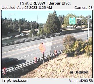 I-5 at ORE 99W-Barbur Blvd.