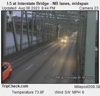 Bridgehunter.com   I-5 - Interstate Bridge (Northbound)