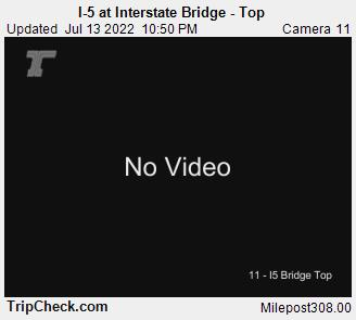 I-5 at Interstate Bridge - Top