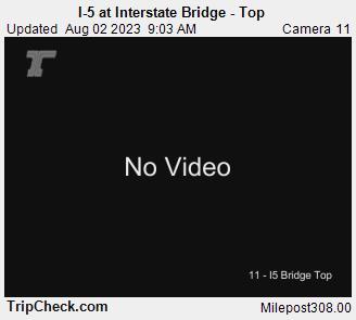 I-5 at Interstate Bridge - Top