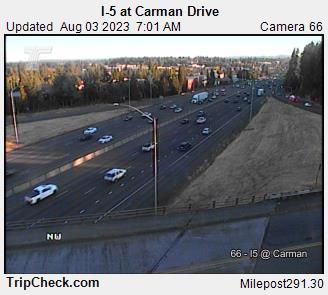 I-5 at Carman Drive