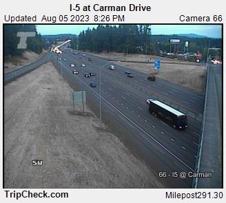 I-5 at Carman Dr.
