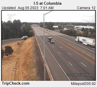 I-5 at Columbia