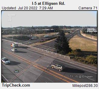 I-5 at Elligsen Road