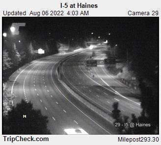 I-5 at Haines