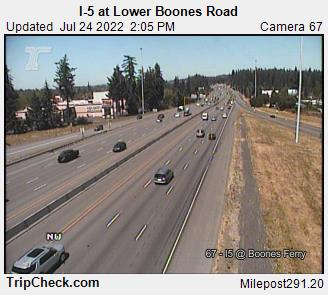 I-5 at Lower Boones Road