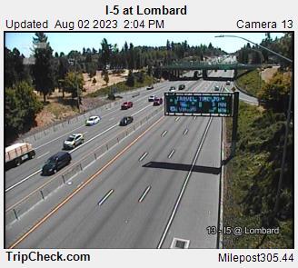 I-5 at Lombard
