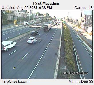 I-5 at Macadam