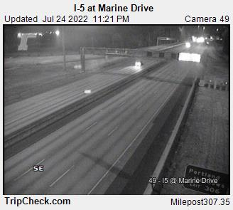 I-5 at Marine Dr.