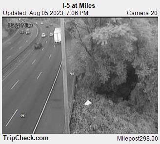 298.0 I-5 at Miles