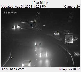 I-5 at Miles