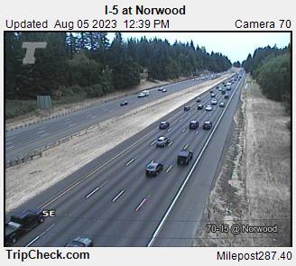I-5 at Norwood