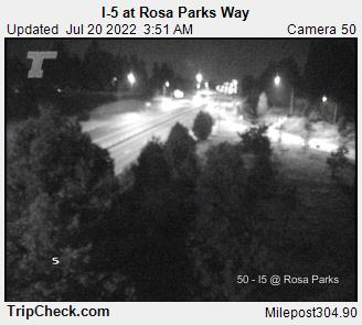 I-5 in North Portland