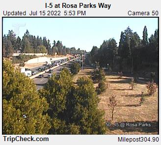 I-5 at Rosa Parks Way