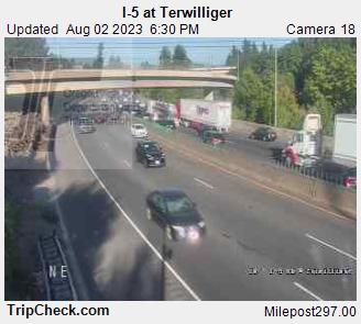 I-5 at Terwilliger