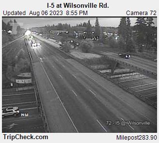 I-5 at Wilsonville Rd