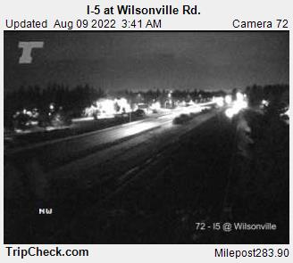 I-5 at Wilsonville Road