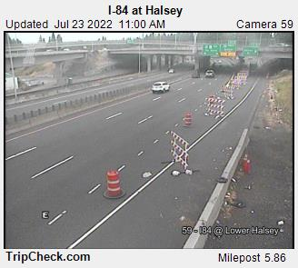 I-84 at Halsey (lower)