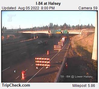 I-84 at Halsey-Lower