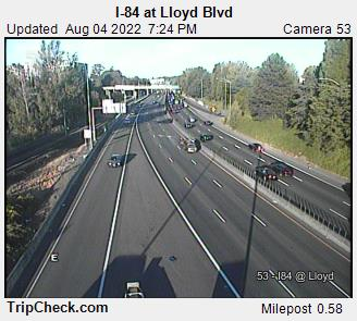 I-84 at Lloyd Blvd.