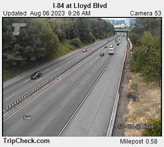I-84 at Lloyd Blvd.
