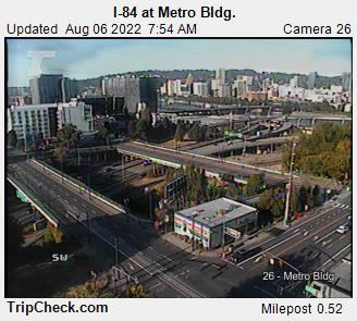 RoadCam - I-84 at Metro Bldg.