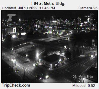 I-84 at Metro Bldg