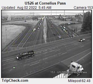 RoadCam - US26 at Cornelius Pass