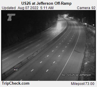 RoadCam - US26 at Jefferson off-Ramp