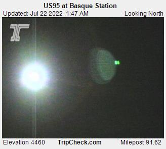 RoadCam - US95 at Basque Station