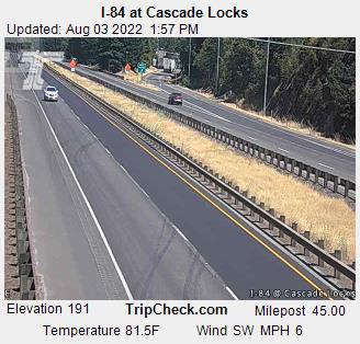 RoadCam - I-84 at Cascade Locks (2)