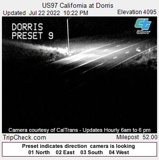 RoadCam - US97 California at Dorris