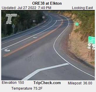 RoadCam - Hwy 38 at Elkton