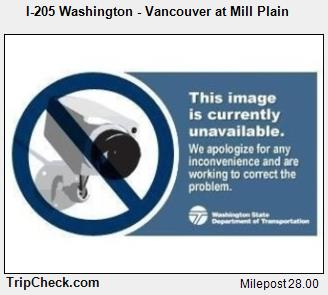 RoadCam - I-205 Washington - Vancouver at Mill Plain