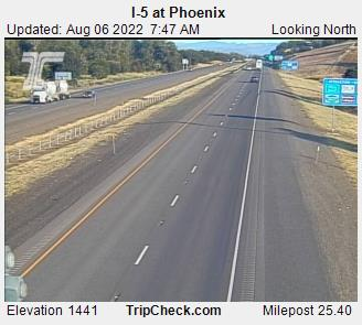 RoadCam - I-5 at Phoenix N