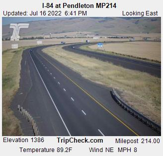 I-84 at Pendleton MP214