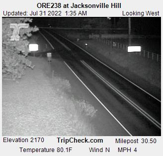 RoadCam - Hwy 238 at Jacksonville Hill WB
