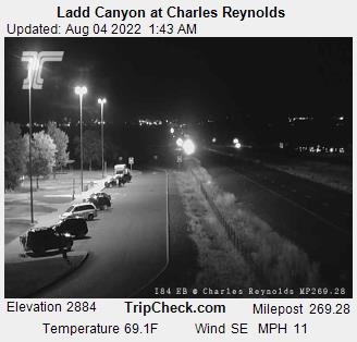RoadCam - Ladd Canyon at Charles Reynolds