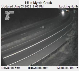 RoadCam - I-5 at Myrtle Creek N