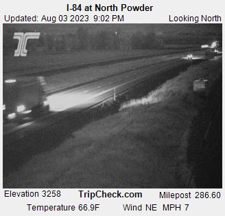 RoadCam - I-84 at North Powder
