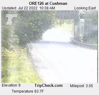 RoadCam - ORE126 at Cushman