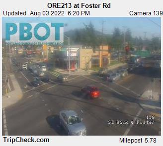 RoadCam - ORE213 at Foster Rd