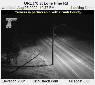 RoadCam - ORE370 at Lone Pine - North