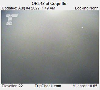 RoadCam - ORE42 at Coquille