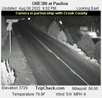 RoadCam - ORE380 at Paulina