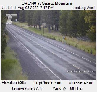 RoadCam - ORE140 at Quartz Mountain