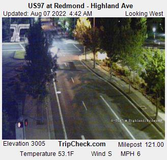 RoadCam - US97 at Redmond Highland Ave.